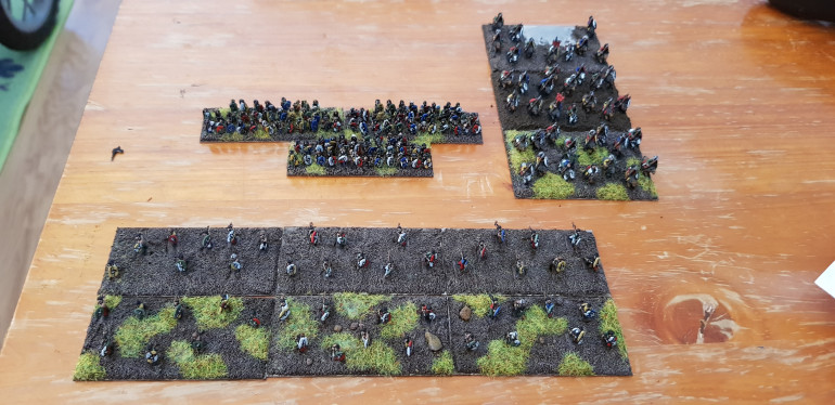 The army as it currently stands