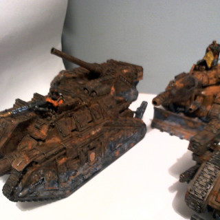 3rd Armoured Division Savlar Chem-Dogs Tanks Ready for Action!