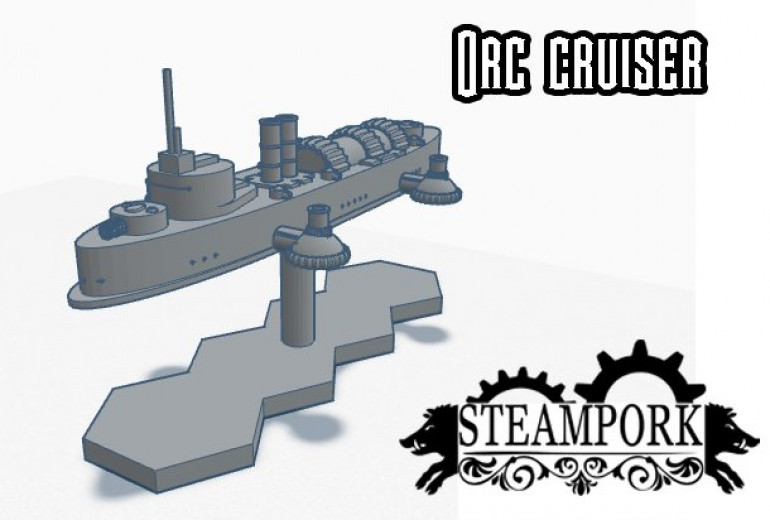 Orc Cruiser - Future Expansion