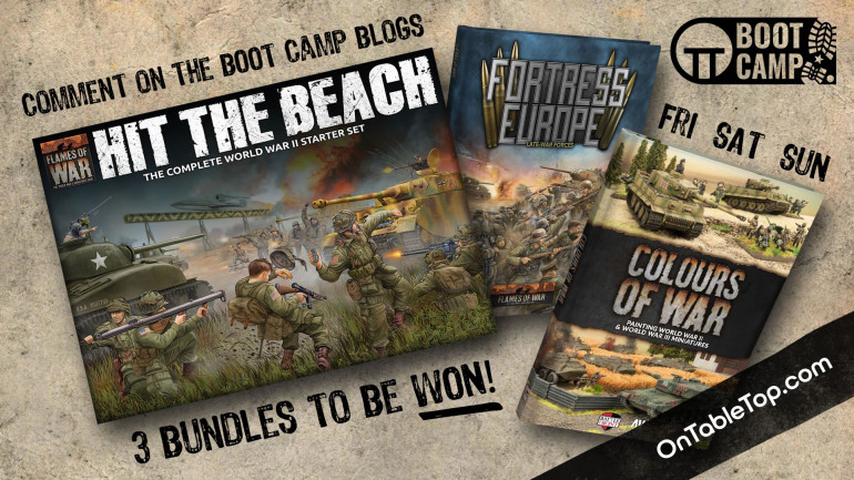 Welcome To Day Three Of The Flames Of War D-Day Boot Camp!