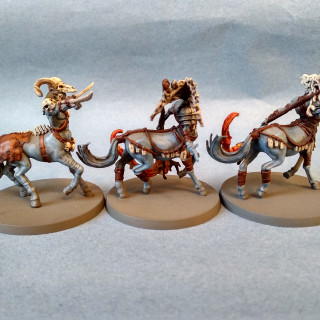 Eurytion and Centaurs: finished