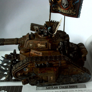 The Commander's Tank - An Example Paint Scheme to Follow