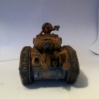 3rd Armoured Division Savlar Chem-Dogs – Tank D – Punisher Finished