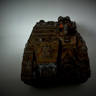 3rd Armoured Division Savlar Chem-Dogs – Tank A- Solar Auxilia Dracosan Armoured Transport – Finished