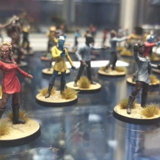 Modiphius Show Off Their Minis