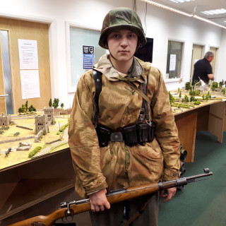 German Re-Enactors Looking Great