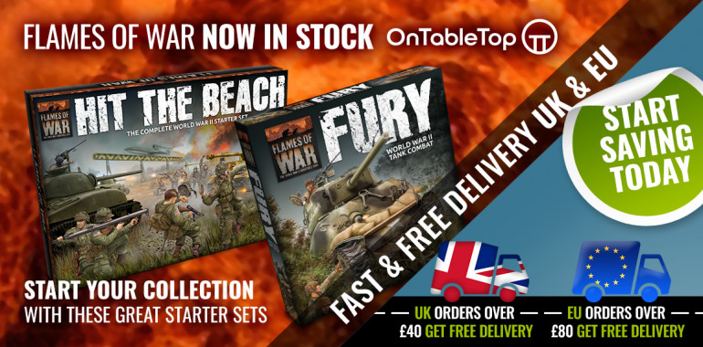 Flames of War Late War Now available from the OnTableTop Store!
