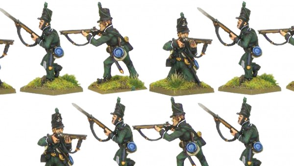 Warlord's Plastic 95th Riflemen Available For A Limited Time