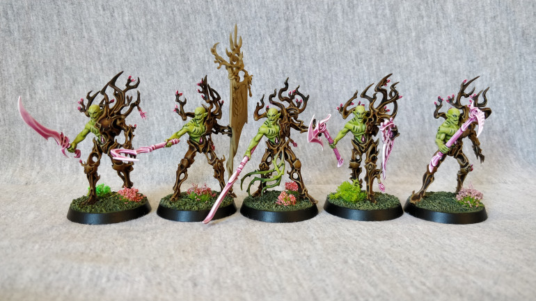 Tree-Revs.  I'll be painting the banner once I have a couple more to do at the same time.