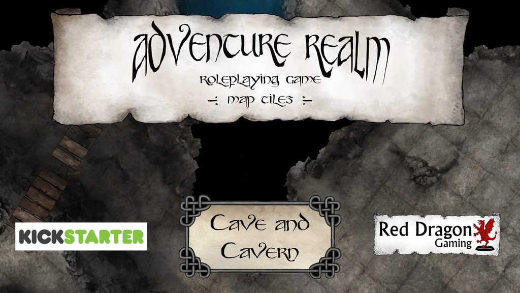 Adventure Realms Tiles - Red Dragon Gaming