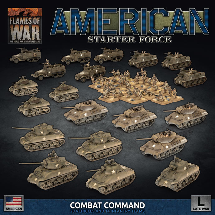 American Starter Force - Flames Of War