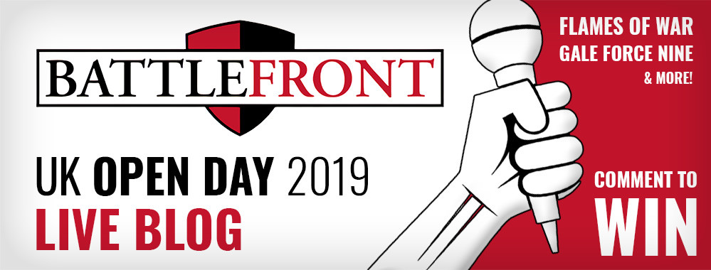 Battlefront UK Open Day 2019 Live Blog