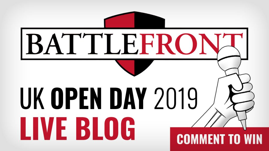 Battlefront UK Open Day 2019 Cover WIN