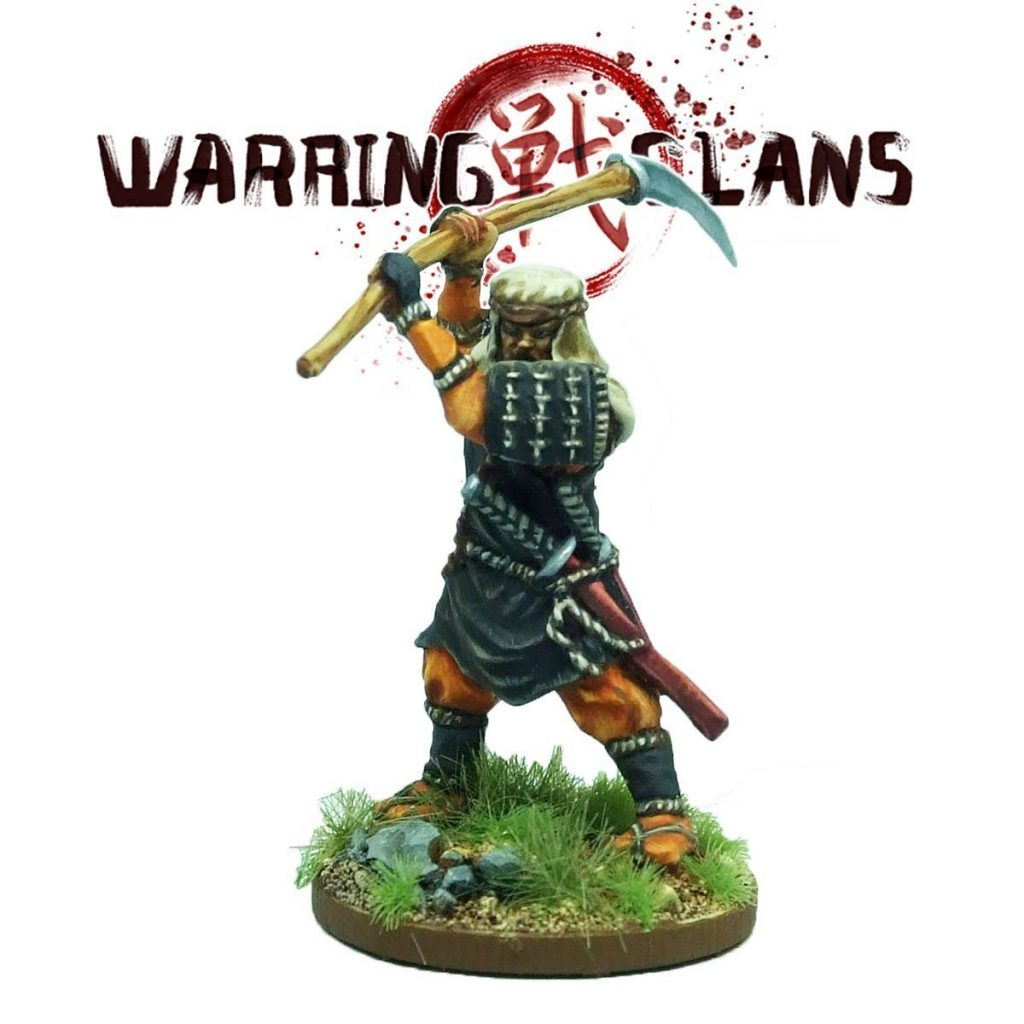 Benkei Warrior Monk - Footsore Miniatures