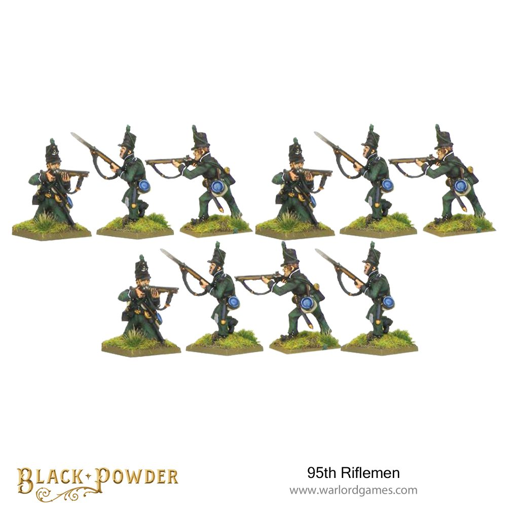 Black Powder 95th Riflemen - Warlord Games