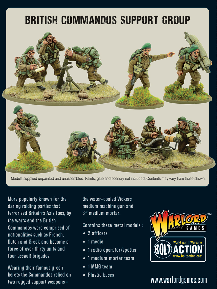 British Commandos Support Group - Bolt Action