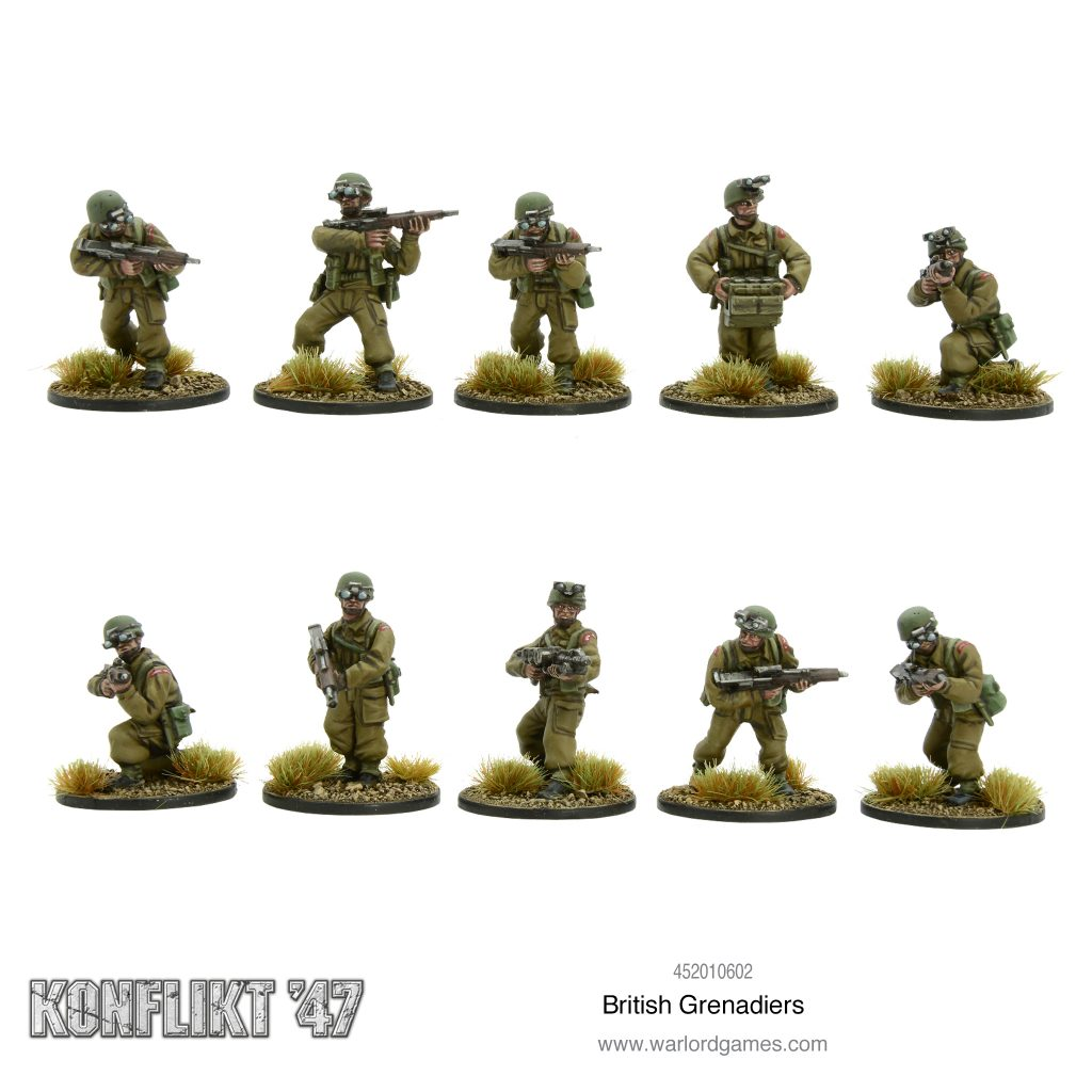 British Grenadiers - Konflikt 47