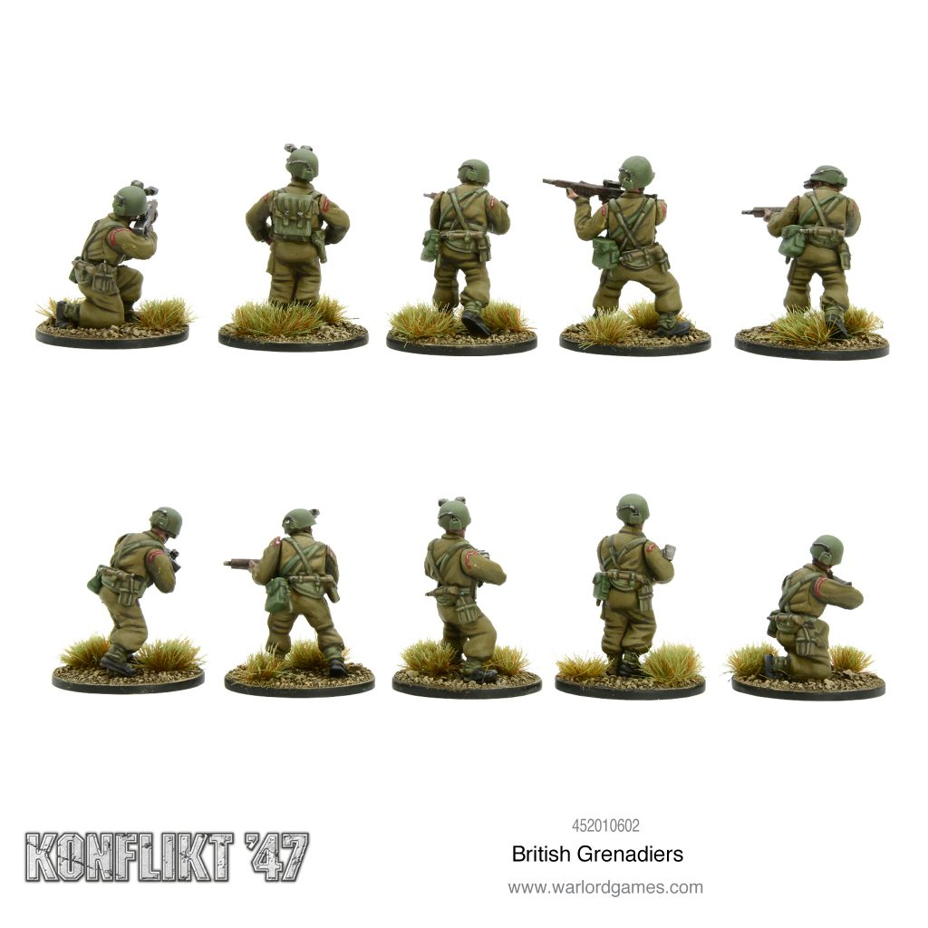 British Grenadiers (Rear) - Konflikt 47