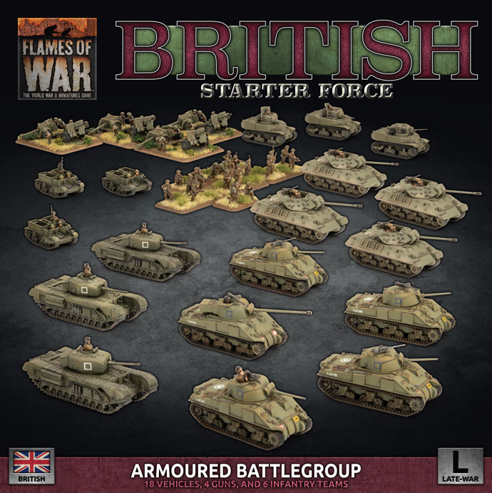 British Starter Force - Flames Of War