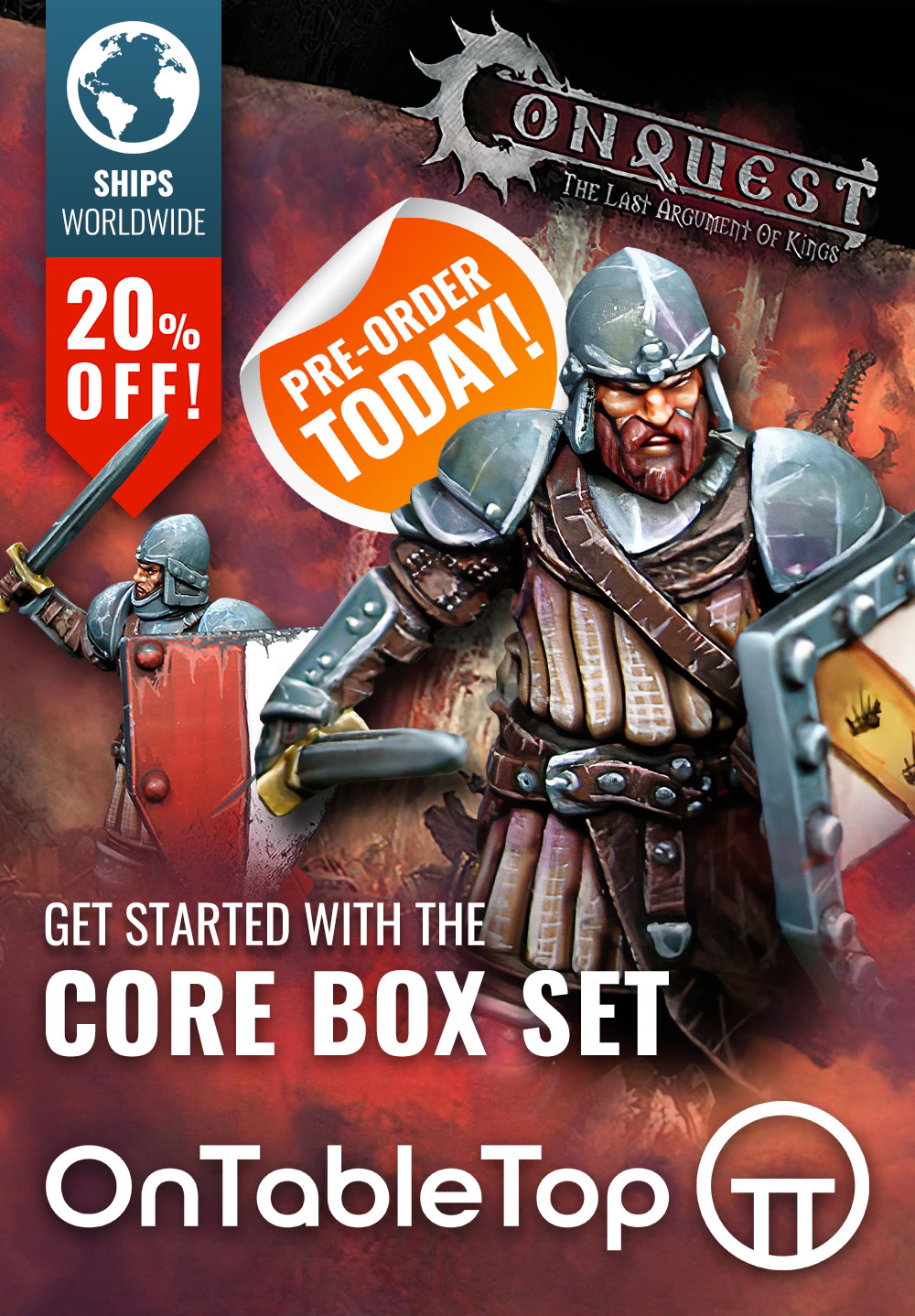 Conquest Core Box Set - Pre-Order