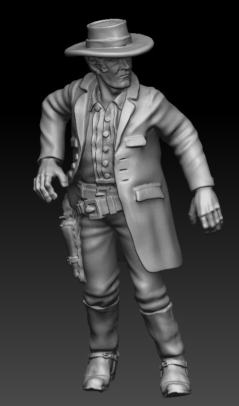 Cowboy #3 - Knuckleduster Miniatures