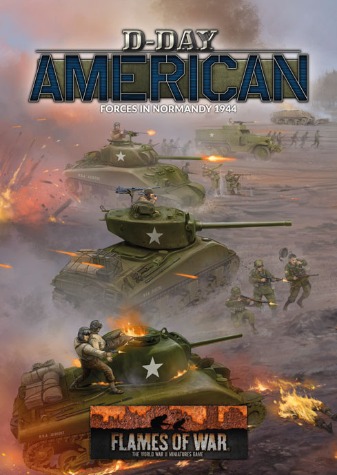 D-Day America Book - Flames Of War