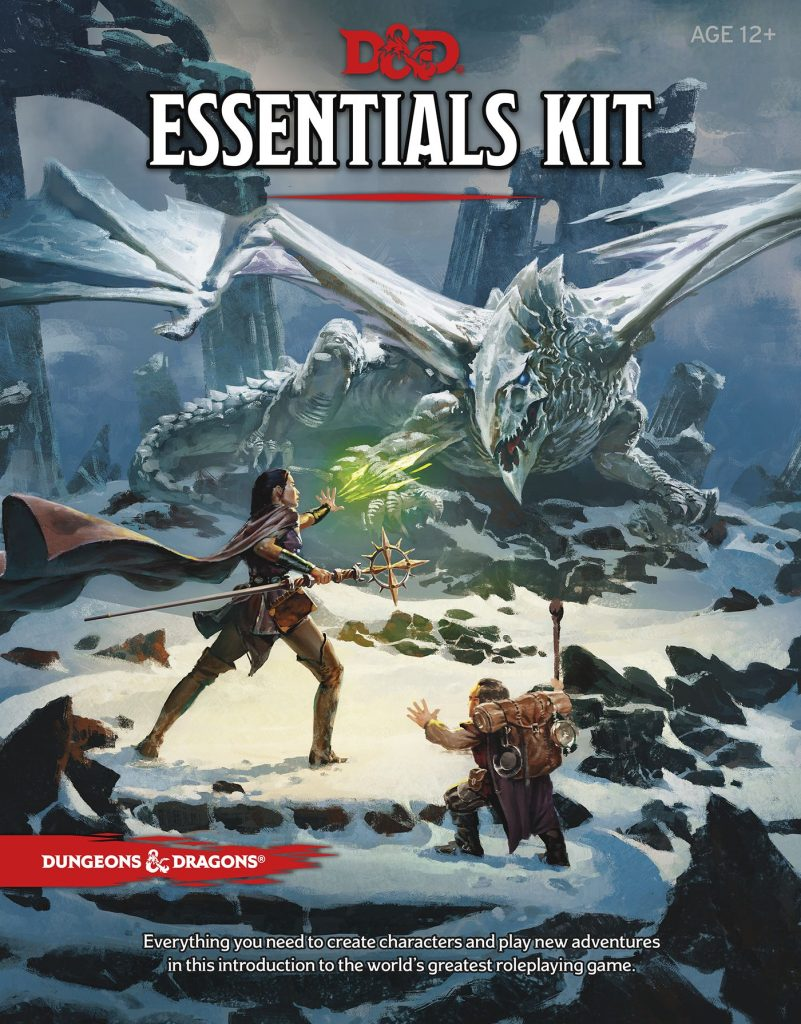 D&D Essentials Kit Cover - Wizards Of The Coast