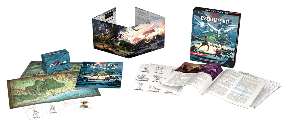 D&D Essentials Kit Interior - Wizards Of The Coast