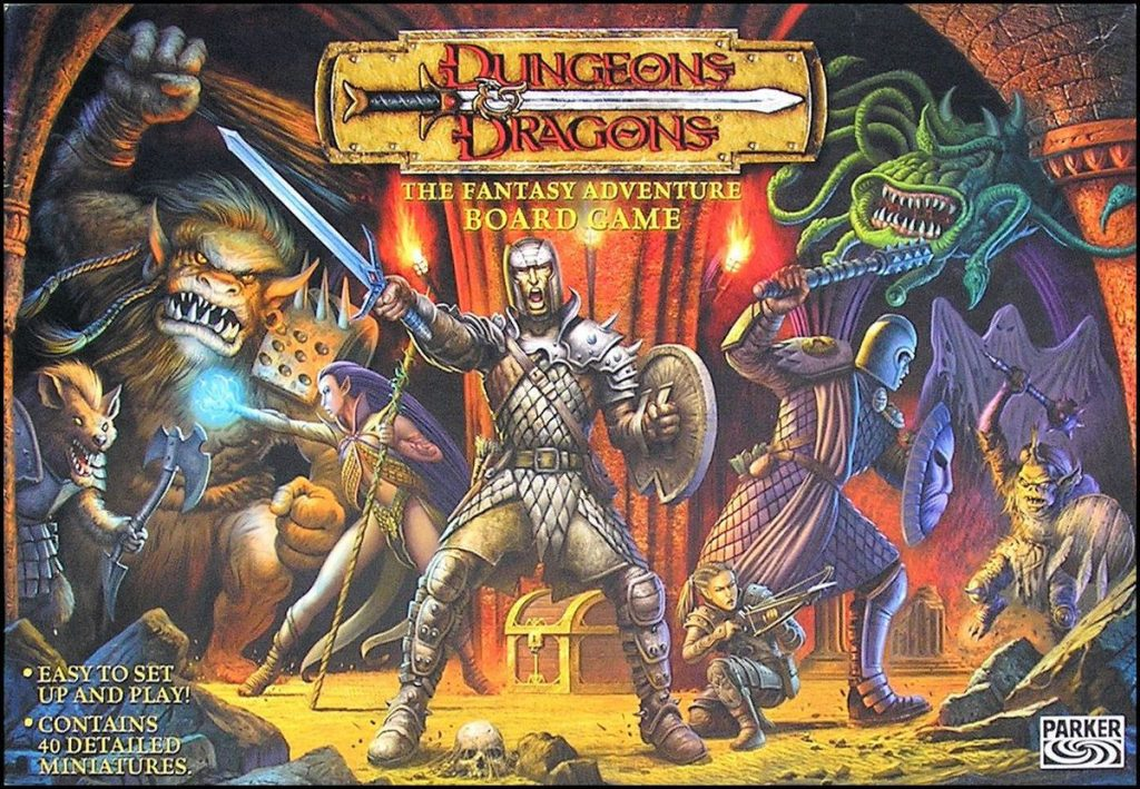 D&D Fantasy Adventre Board Game #1