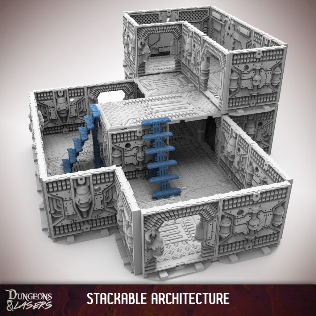 3d Design Using Home Designer Chief Architect Multi Level: Delve Deep In Archon's Upcoming Dungeons & Lasers Terrain