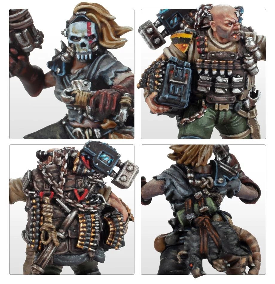 Dome Runner & Ammo Jack (Close) - Forge World
