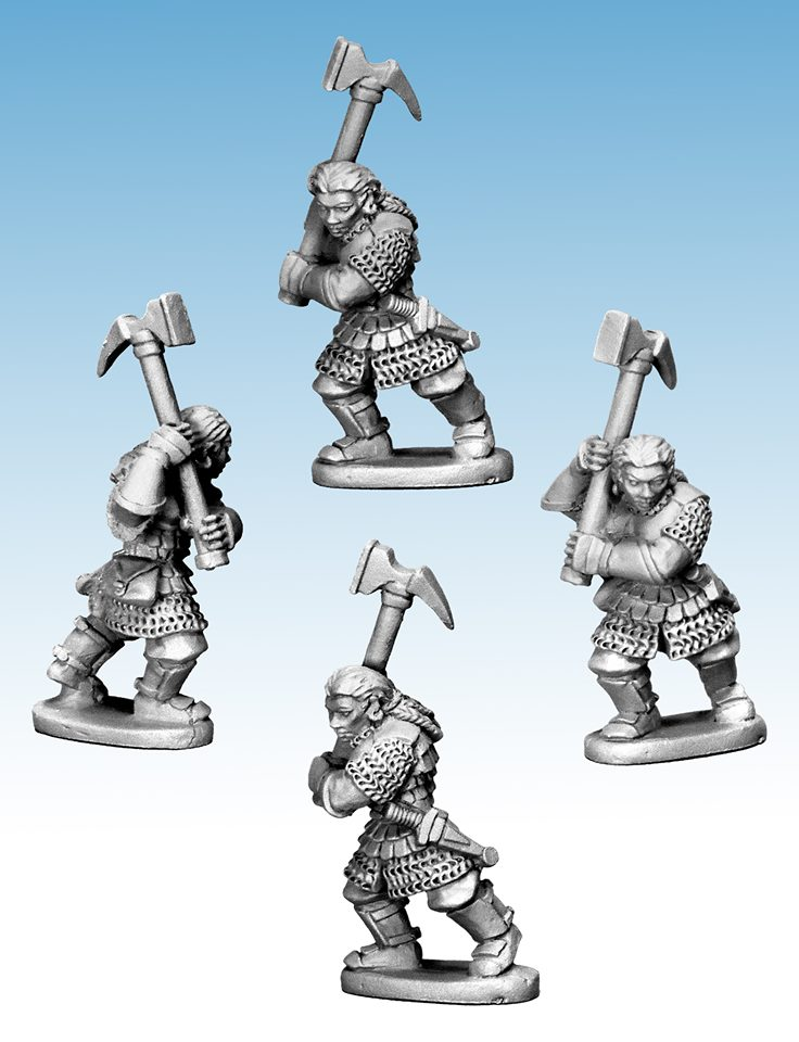 Dwarf Warrior Woman - Oathmark