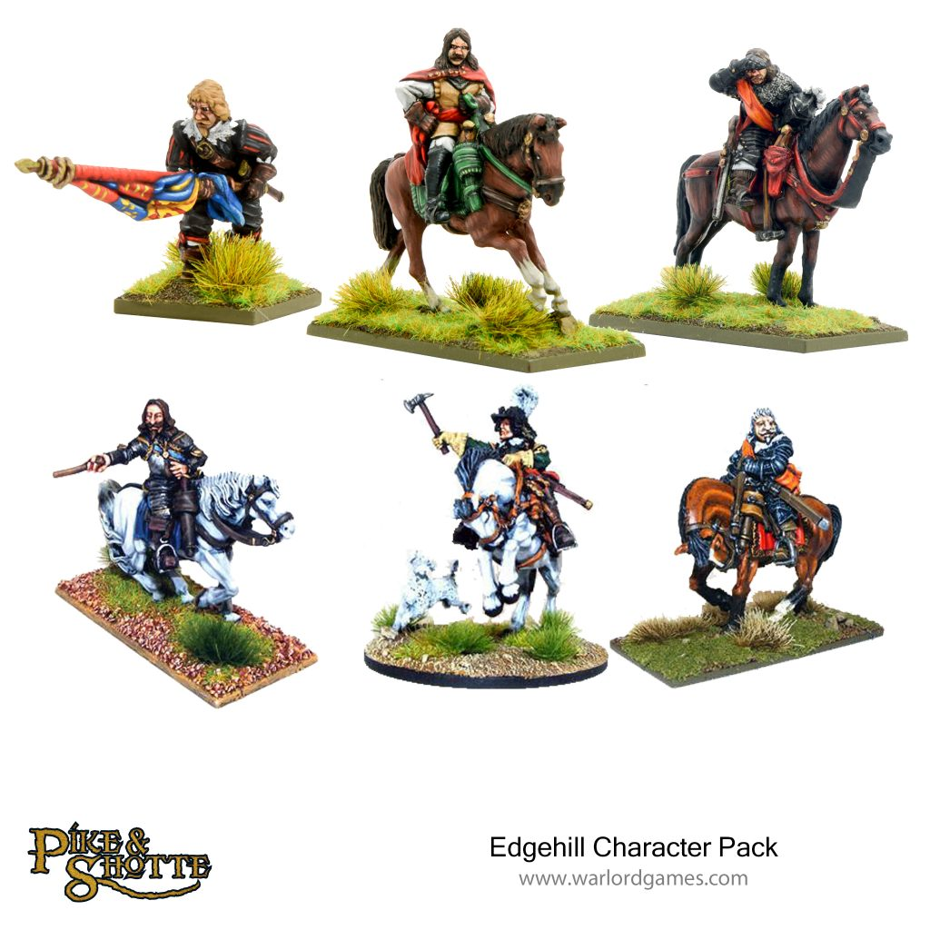 Edgehill Character Pack - Warlord Games