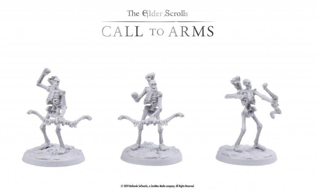Elder Scrolls Skeletons - Modiphius