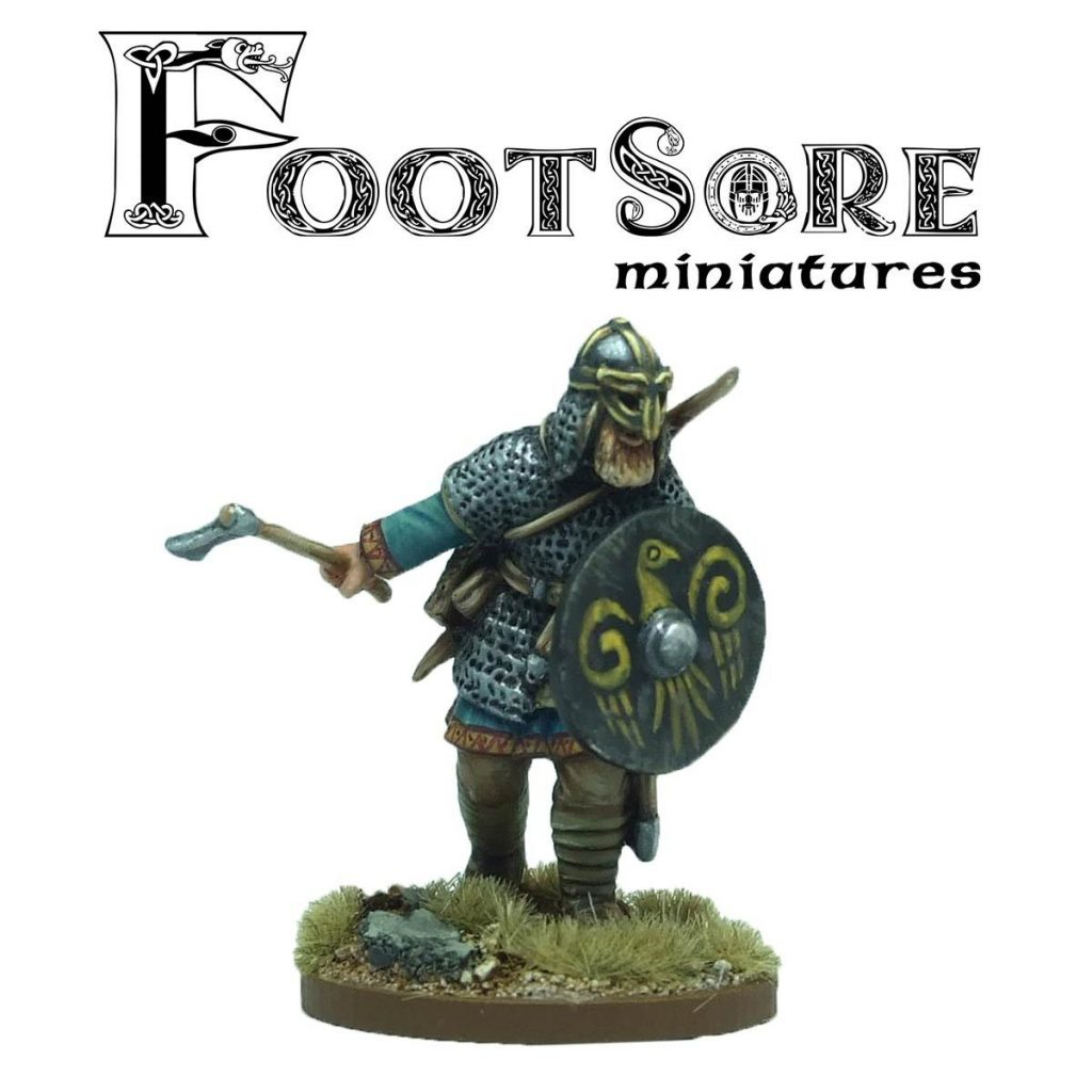 Erik The Red Thorvaldsson - Footsore Miniatures