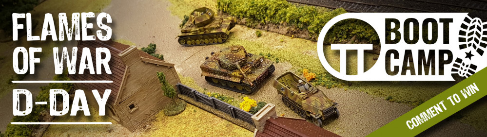 Flames Of War D-Day Boot Camp: Friday