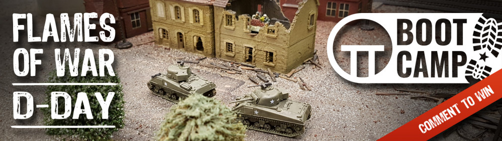 Flames Of War D-Day Boot Camp: Saturday