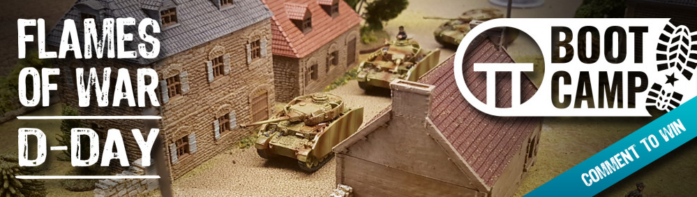 Flames Of War D-Day Boot Camp: Sunday