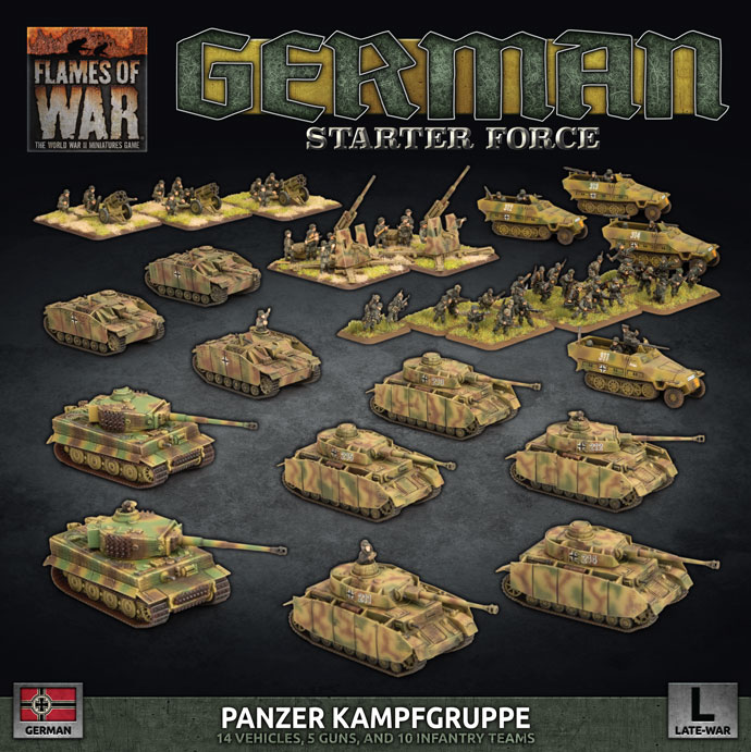 German Starter Force - Flames Of War