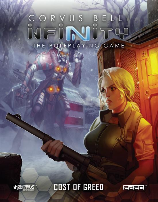 Infinity Cost Of Green - Modiphius