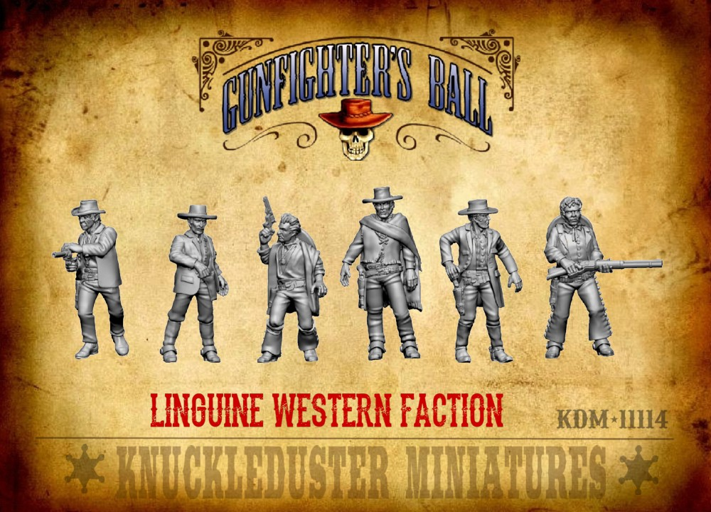 Linguine Western Faction - Knuckleduster Miniatures
