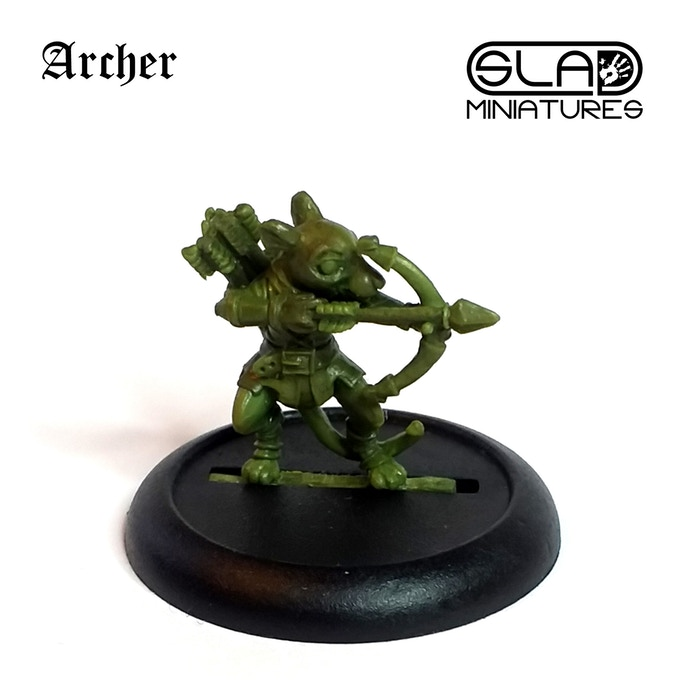 Mouse Archer - SLA Miniatures