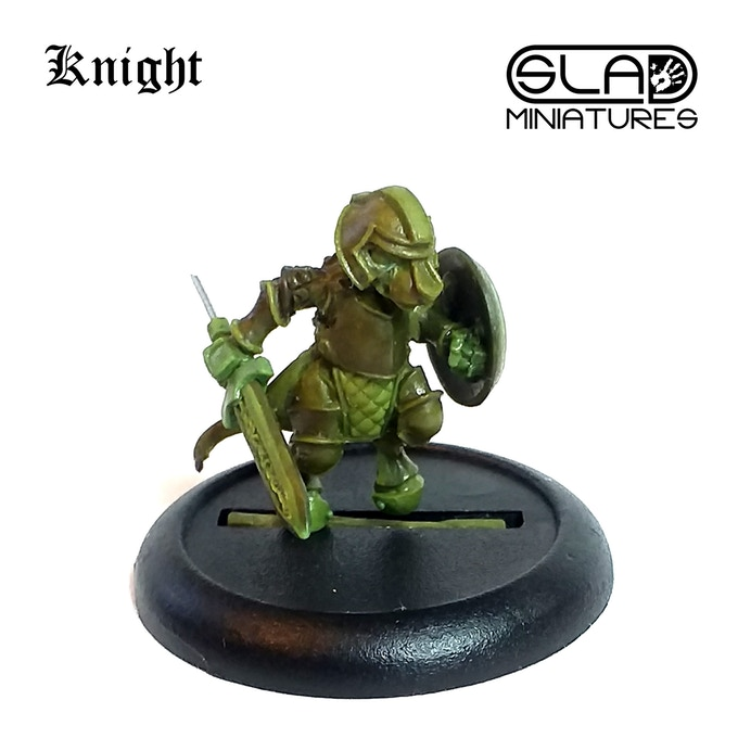 Mouse Knight - SLA Miniatures
