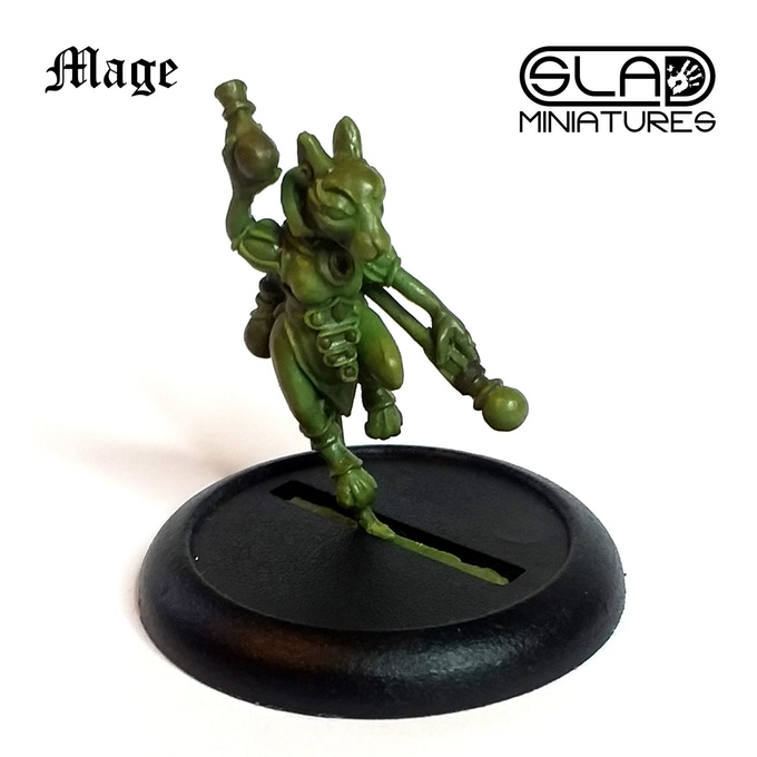 Mouse Mage - SLA Miniatures