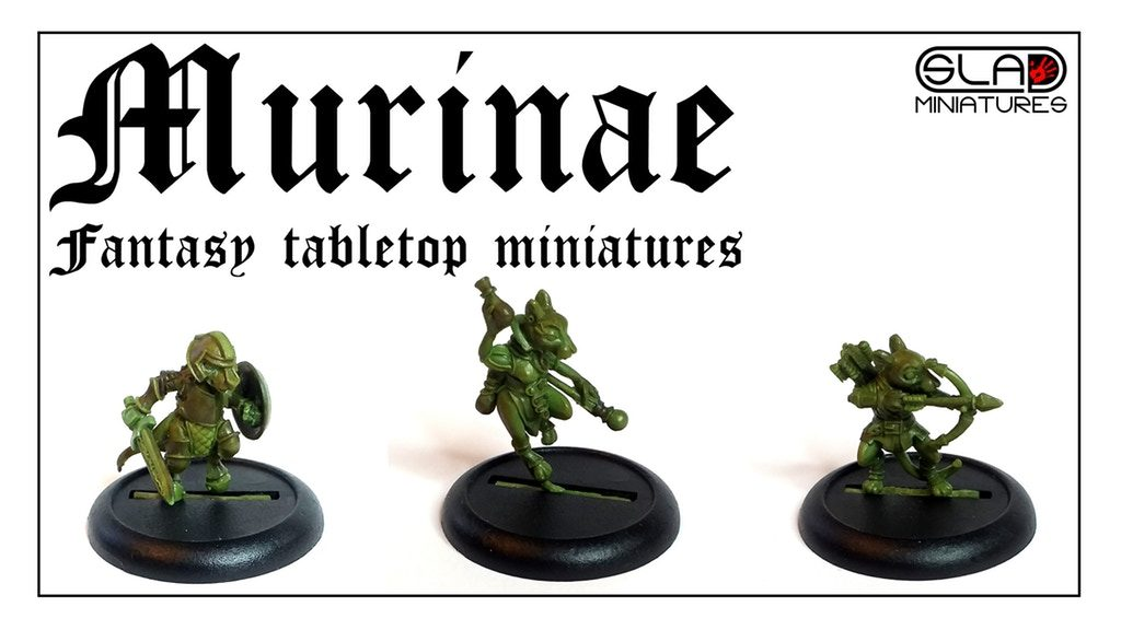 Murinae Fantasy Miniatures - SLA Miniatures