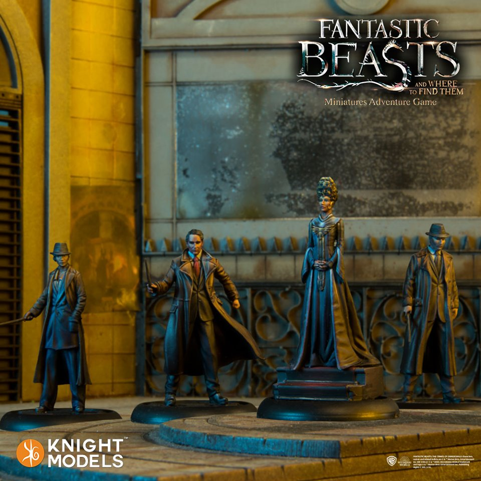 President Picquery - Knight Models