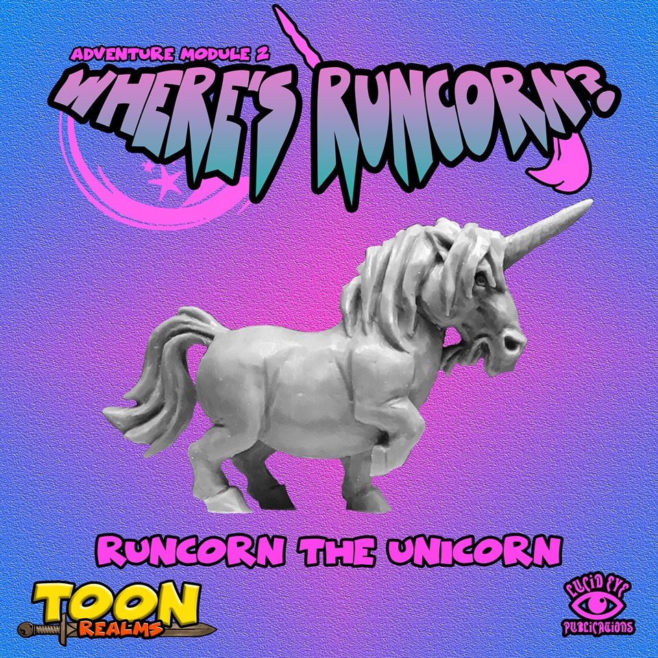 Runcorn The Unicorn - Lucid Eye