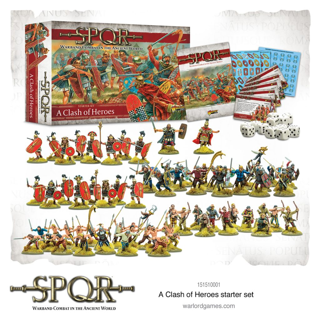 SPQR A Clash Of Heroes - Warlord Games