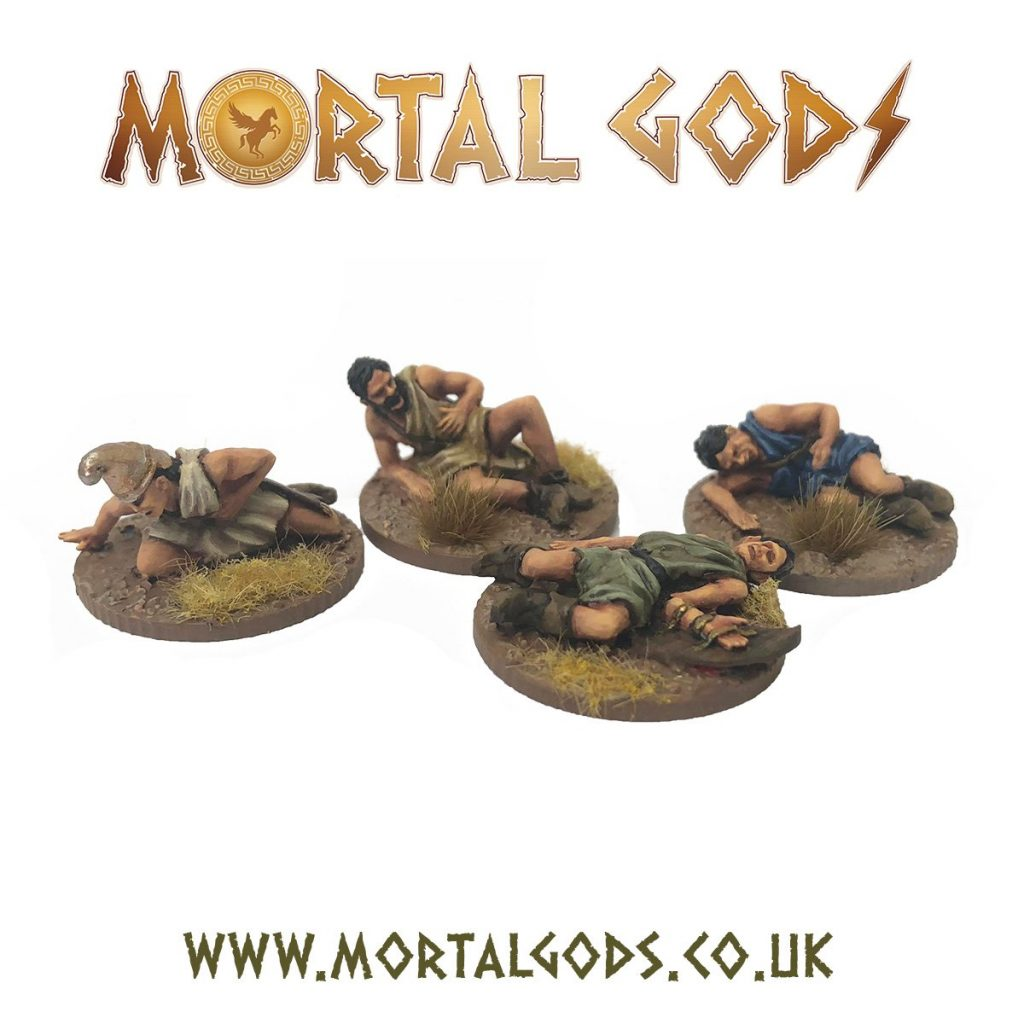 Skirmisher Casualties - Footsore Miniatures