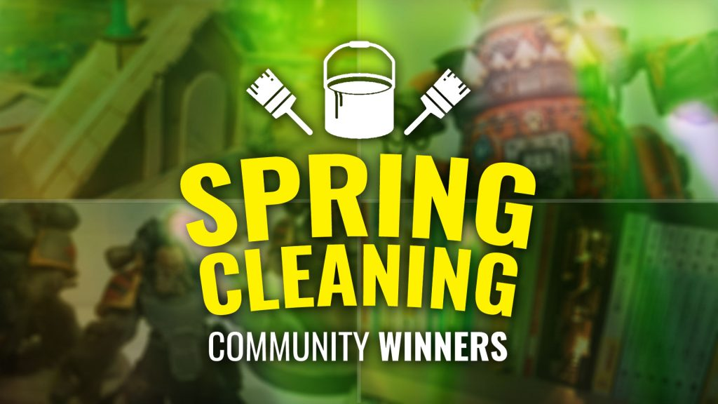 Spring Cleaning Hobby Challenge Winners Announced!
